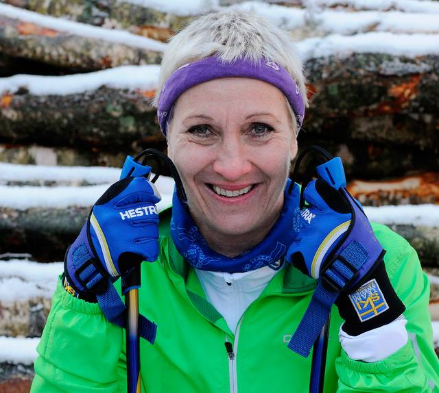 Carina Hammarstrand. Foto: Sandra Svensson/SR
