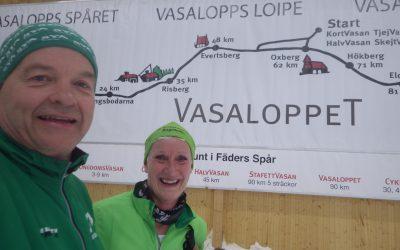 Skidor i Torsby på väg mot Oringen i Sälen