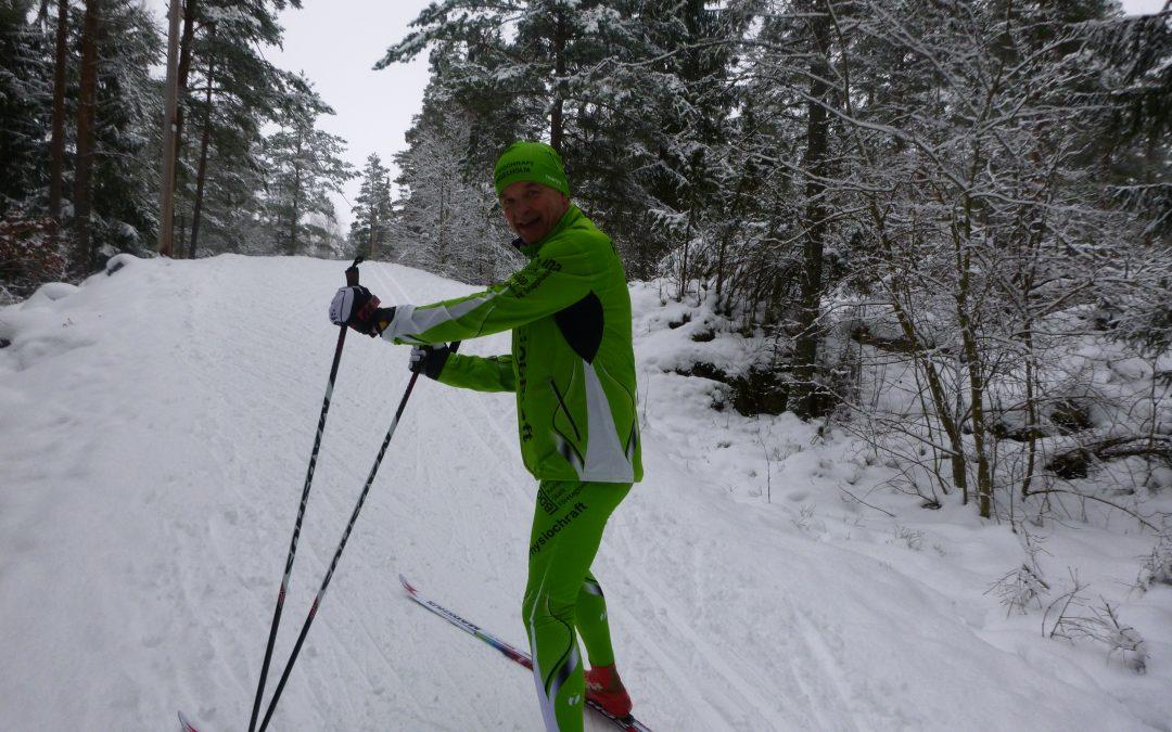 Lördag Skidor i drivor… vitaminer från Forever och en syster på Mello