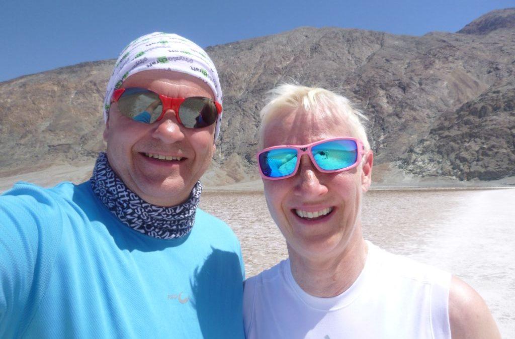 Lördag genom öken i Death valley till Las Vegas