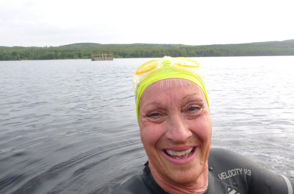 Onsdag Första simträningen sedan Vansbro 2017