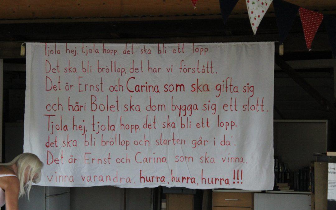 Lördag Heldag med Aberger och Hammarstrands familjerna Tio år efter 0808.