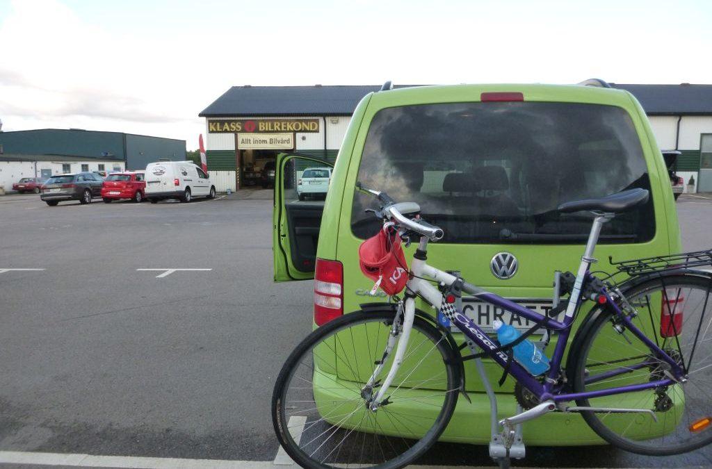 Onsdag Cykla hit, cykla dit och Cykla Spinning