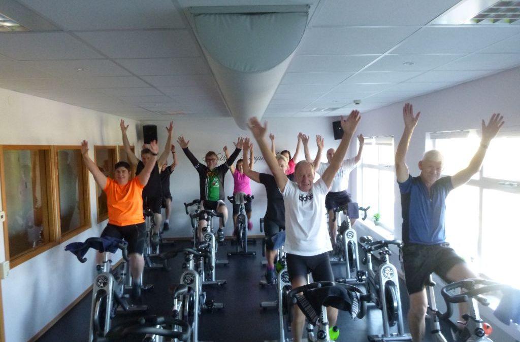 Tisdag med 10 minus, träningscoachning och spinning
