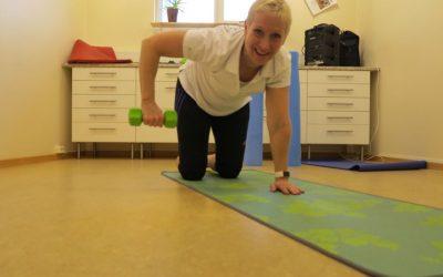 Tisdag På jobbet, #enkeltattträna, Yoga och Ernst kunde inte låta bli!
