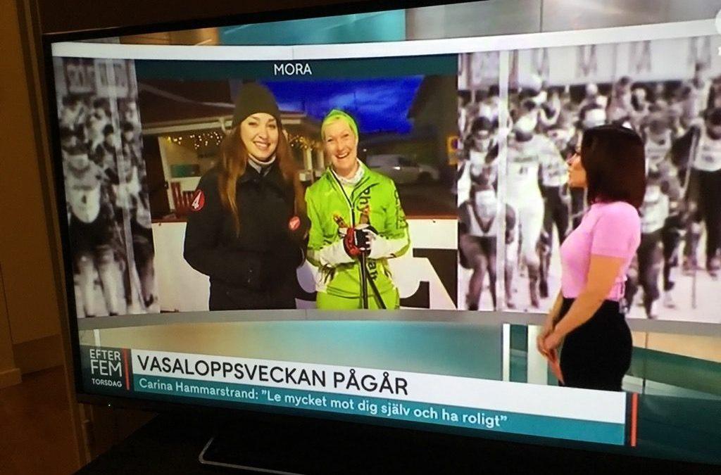 Torsdag med Businessfrukost, TV4 och förflyttning till Sälen.