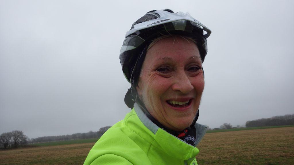 Onsdag Fuktig och blåsig cykling till jobbet