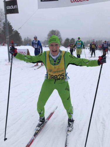 Söndag  Min 29de Vasaloppsvecka är slut – Målgång nummer 154 på skidor!