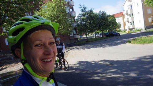 Fredag  Härliga 95 km på cykel runt Roxen