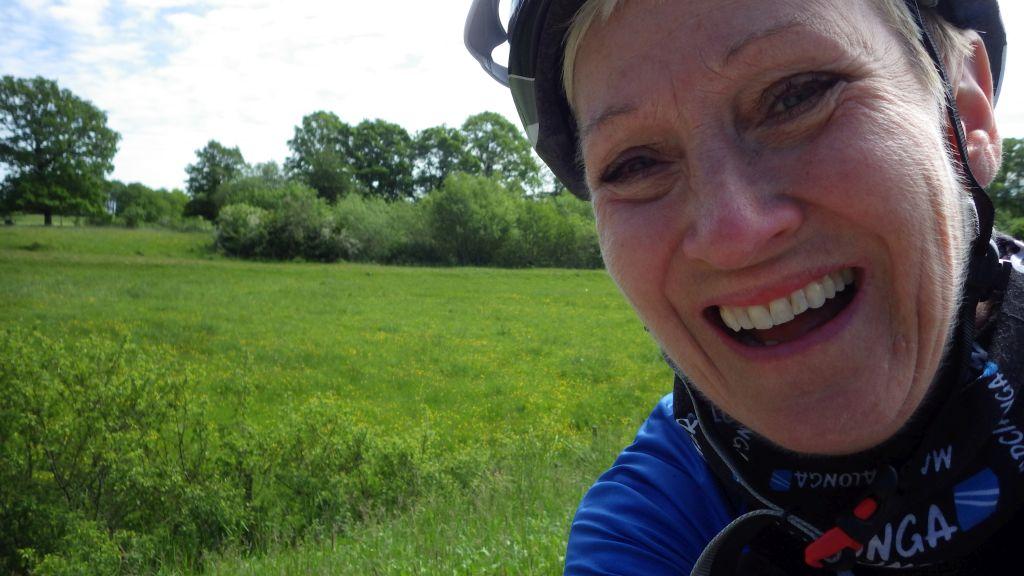 Fredag Härligt morgonbad och cykling med Näktergal