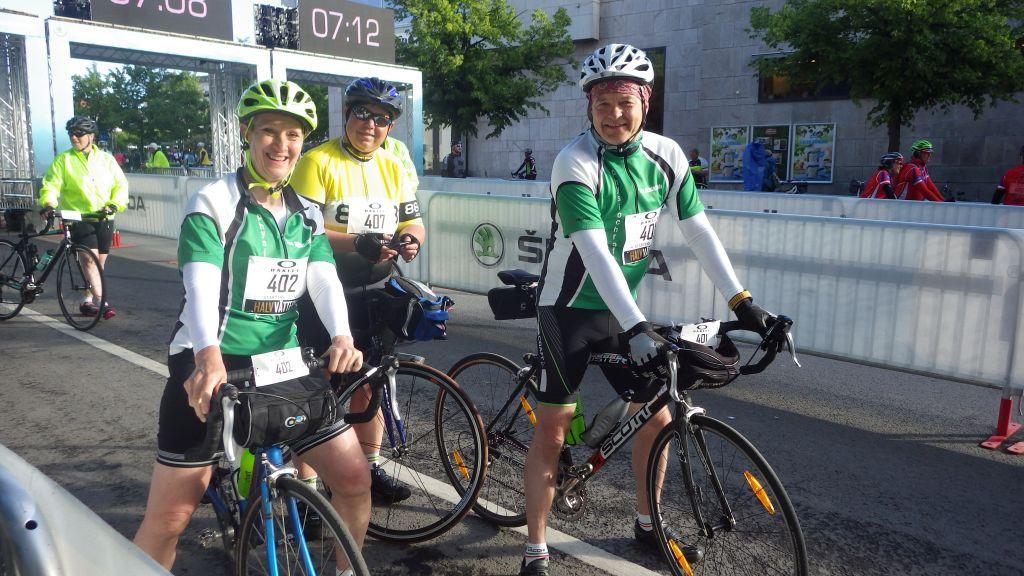 Söndag HalvVättern 15 mil.  Tredje dagen i Cykelveckan.