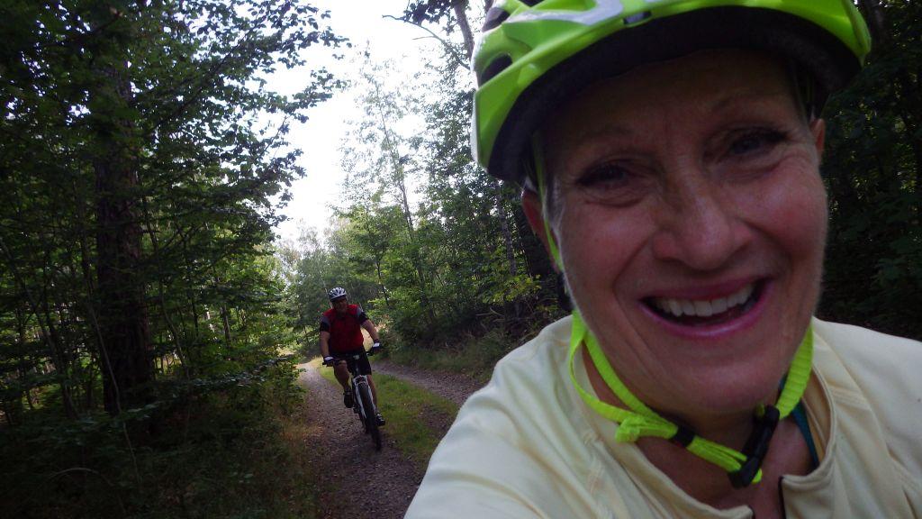 Lördag Lång härlig MTB cykling. Ernst i Båstad.