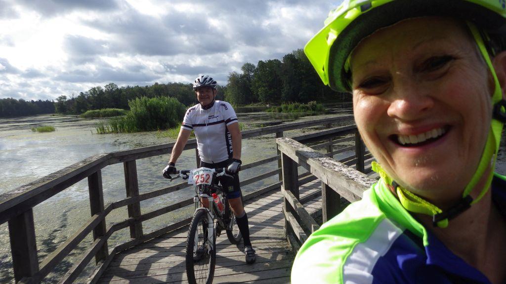 Tisdag Cykel runt Rosenkälla och sedan bil till Skåne