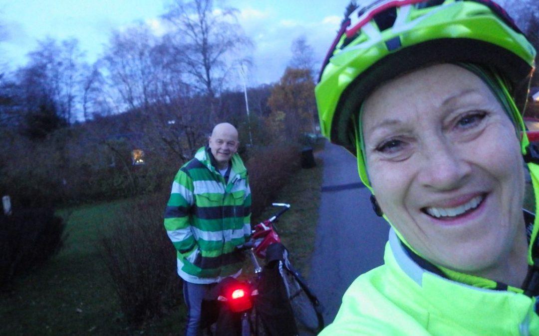 Torsdag Cykel till jobbet, trädgård och Rhapsody in Rock