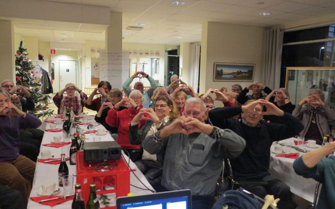 Torsdag Trainer, besök av ÄNAB, frissan, trädgård och föreläsning