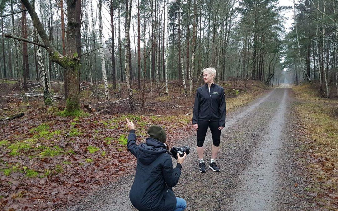 Fredag Morgonträning och fotografering för ÄHLM