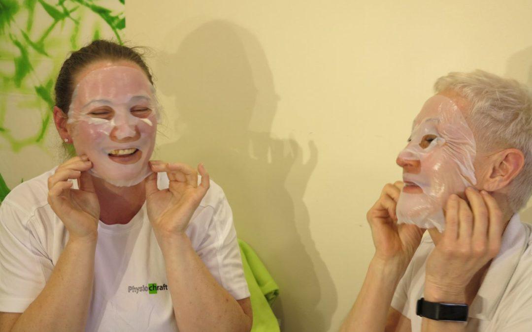 Torsdag Träning, frissan och ansiktsmask
