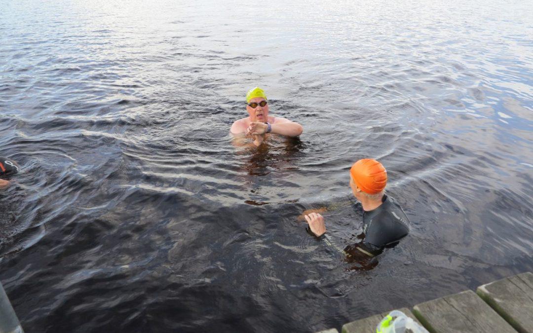 Måndag Morgon och Kväll vid Västersjön