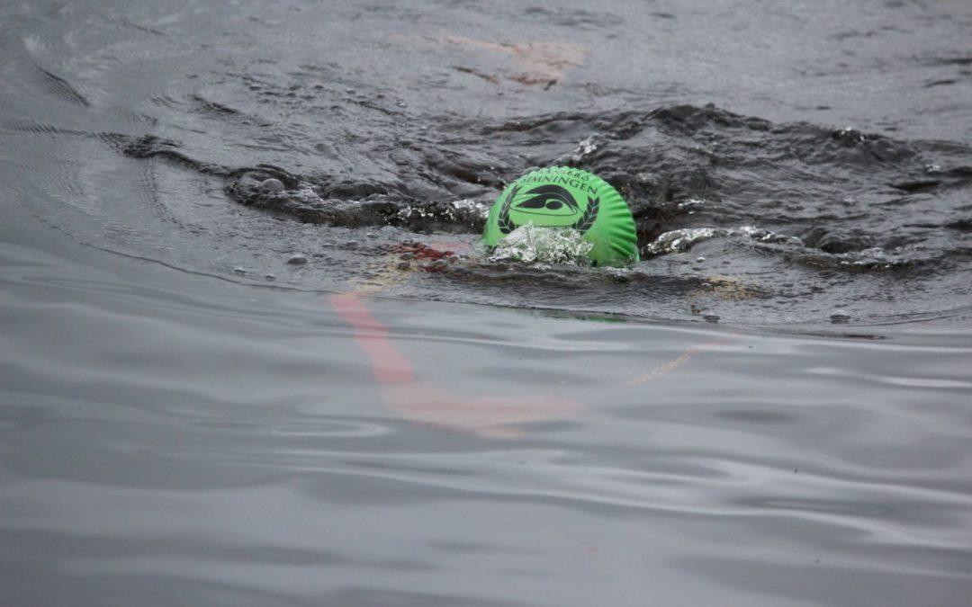 Lördag Vansbrosimning 2020 i Västersjön