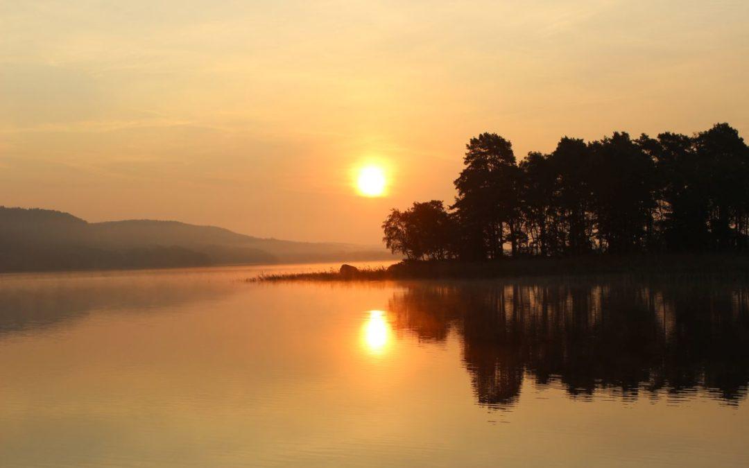 Tisdag Magisk morgon vid Västersjön