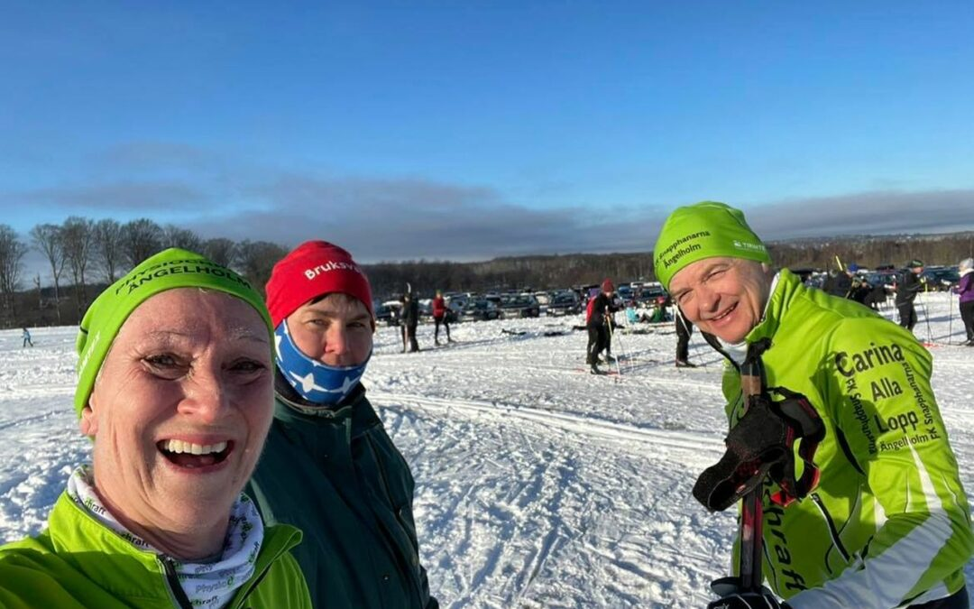 Lördag Skidor, Yoga och Walkstreak