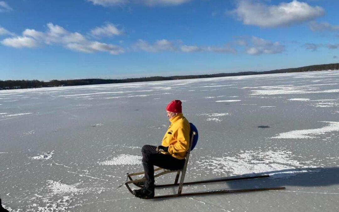 Söndag Spark på Västersjön
