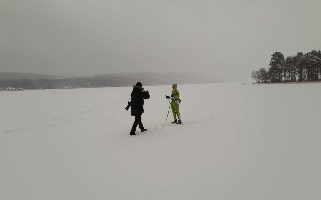 Onsdag Skidor på Västersjön
