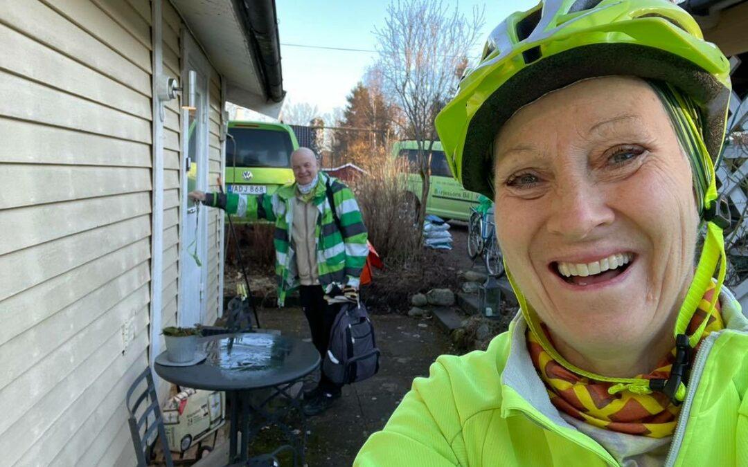 Tisdag Cykel till jobbet