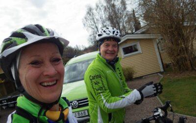 Fredag 10 mil cykel