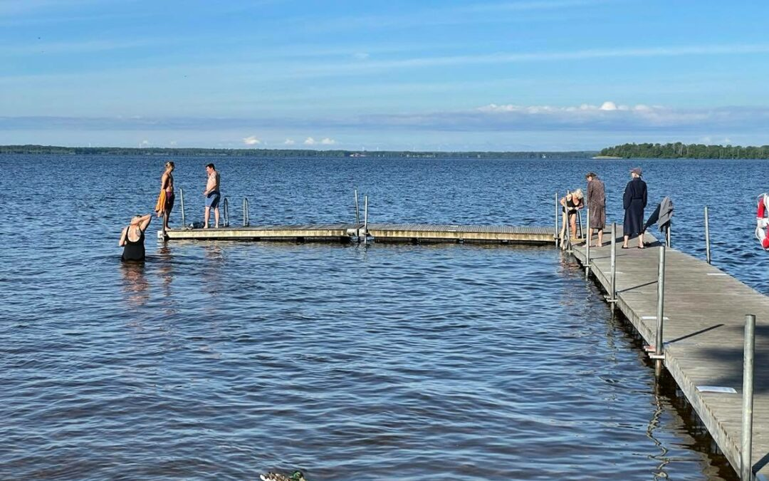 Torsdag Bad i Ivösjön