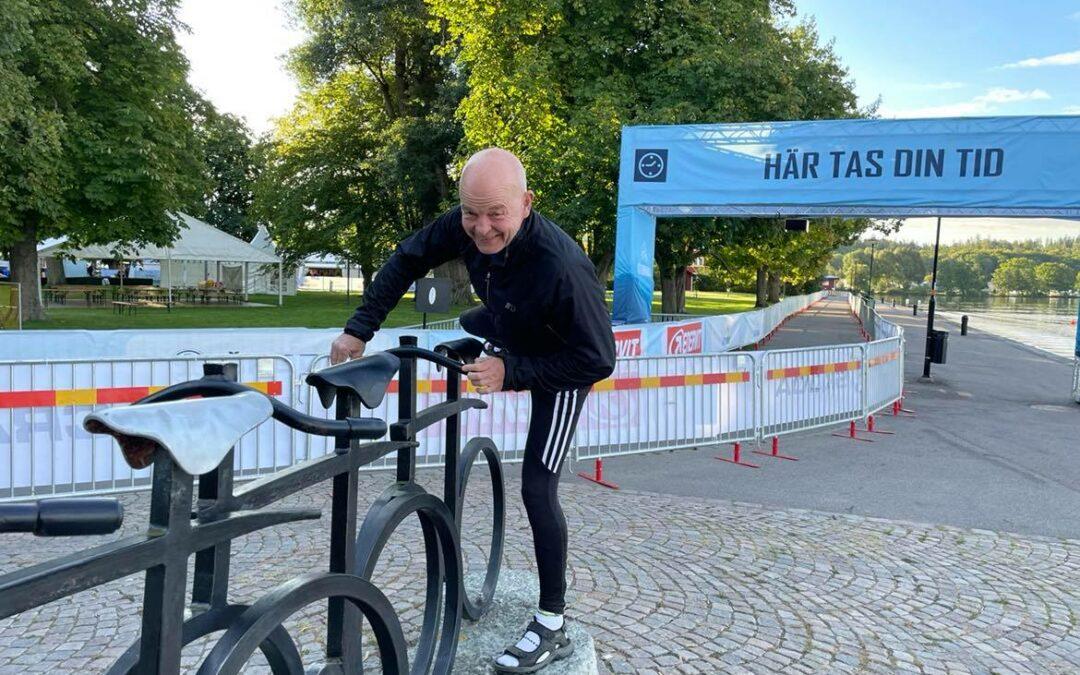 Söndag Från Vättern och cykel till Rönneå och kanot
